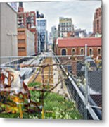 Manhattan High Line Metal Print