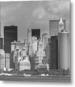 Manhattan New York Metal Print