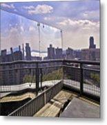 Manhattan Reflections Metal Print