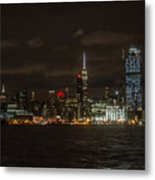 Manhattan Skyline 5 Metal Print