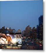 Manhattan View From The High Line Metal Print
