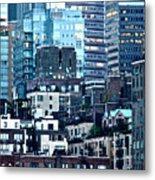 Manhattan View Metal Print