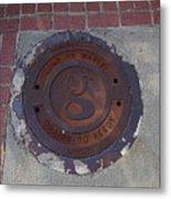 Manhole II Metal Print