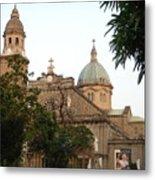 Manila Cathedral Metal Print