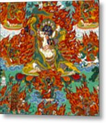 Maning Mahakala With Retinue Metal Print