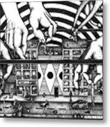 Manipulation  Metal Print