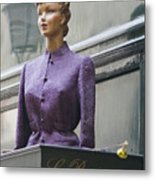 Mannequin In The Passage Metal Print