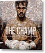 Manny Pacquiao-the Champ Metal Print