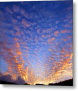 Manoa Valley Sunrise Metal Print