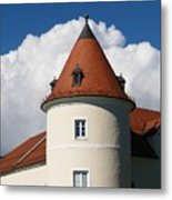 Manor House Tower Metal Print