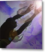 Mans Creation Metal Print