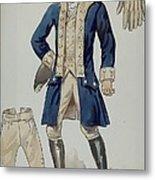 Man's Uniforms Metal Print