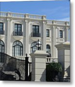 Mansion At The Beach Metal Print