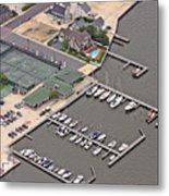 Mantoloking Yacht Club Mantoloking New Jersey II Metal Print