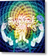 Mantra Of Compassion Metal Print