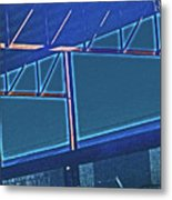 Manufacturing Abstract Metal Print