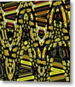 Many Flowers Abstract Metal Print