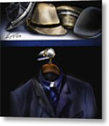 Many Hats One Collar Metal Print
