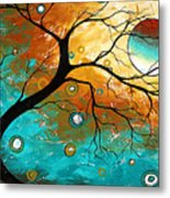 Many Moons Ago By Madart Metal Print