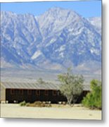 Manzanar A Blight On America 1 Metal Print