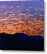 Manzanillo Sunset 3 Metal Print
