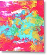 Map Of The Inconstant Heart Metal Print