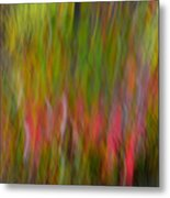 Maple Swerve Series Metal Print