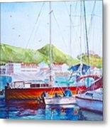 Maragot Harbor Metal Print