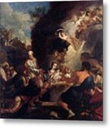 Maratti Carlo Adoration Of The Shepherds Metal Print