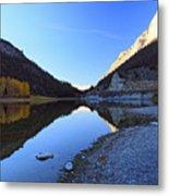 Marble Canyon Autumn Reflection Metal Print