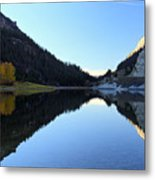 Marble Canyon Lake Reflection Metal Print