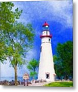 Marblehead Lighthouse  Metal Print