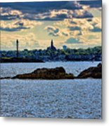 Marblehead Points To The Ocean Metal Print