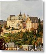Marburg Castle Germany H B Metal Print