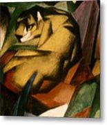 Marc: The Tiger, 1912 Metal Print
