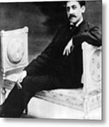 Marcel Proust, French Author Metal Print