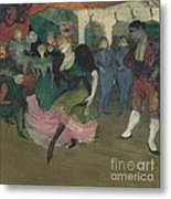 "Marcelle Lender Dancing The Bolero In ""chilp?ric"" Metal Print"