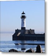 March Lghthouse Metal Print