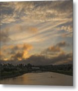 March Sunset Metal Print