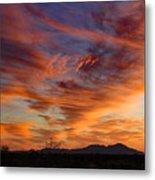 March Sunset Metal Print
