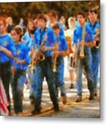 Marching Band - Junior Marching Band  Metal Print