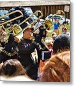 Marching Band Brass Metal Print