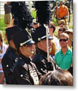 Marching Band Wind Metal Print