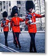 Marching Grenadier Guards Metal Print