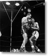 Marciano & Charles, 1954 Metal Print by Granger