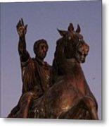 Marcus Aurelius Statue Rome Metal Print