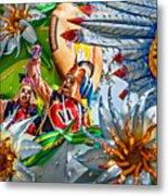 Mardi Gras - New Orleans 3 Metal Print