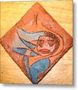 Marg - Tile Metal Print