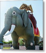 Margate New Jersey - Lucy The Elephant Metal Print