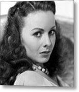 Margie, Jeanne Crain, 1946 Metal Print by Everett